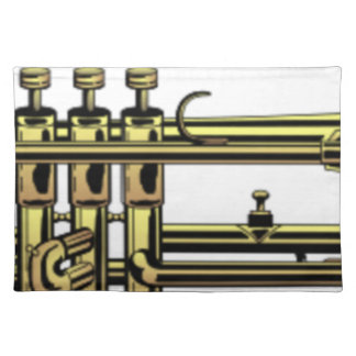 Trumpet Cartoon Placemat