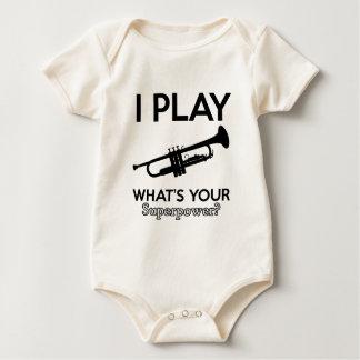 trumpet designs baby bodysuit