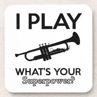 trumpet designs coaster