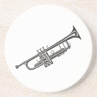 "Trumpet ""Drawing"" Coaster"