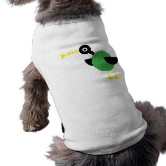 Trumpet Duck Doggie T Shirt