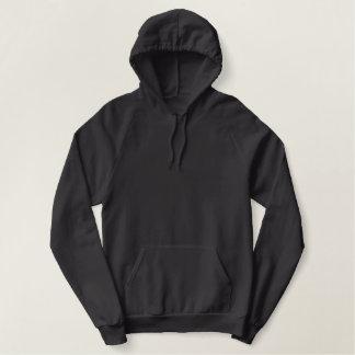 trumpet embroidered hoodie
