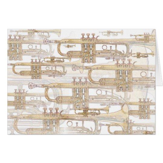 Trumpet Fanfare Card