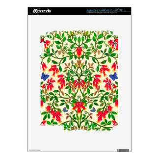 Trumpet Floral Vines Zazzle Skin iPad 3 Skins