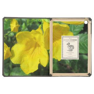 Trumpet Garden Flower Yellow iPad Air Cover