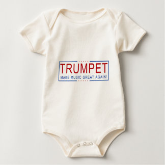 TRUMPET - Make Music Great Again! Baby Bodysuit