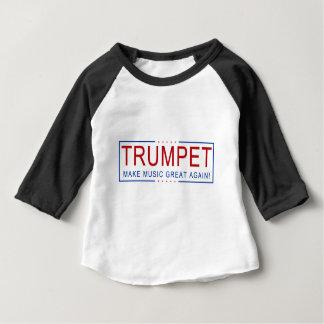 TRUMPET - Make Music Great Again! Baby T-Shirt