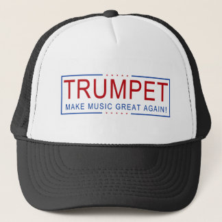 TRUMPET - Make Music Great Again! Trucker Hat