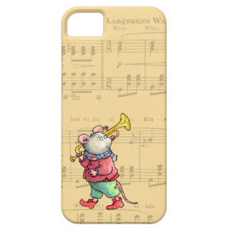 Trumpet Mouse on Sheet Music - Case-nate iPhone 5 iPhone 5 Case