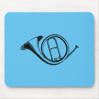Trumpet & Music Love Mouse Pad