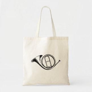 Trumpet & Music Love Tote Bag