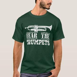 Trumpet Music Marching Band Funny Mens Shirt