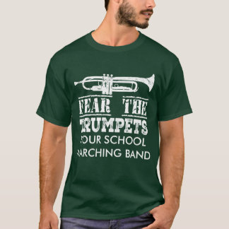 Trumpet Music Marching Band Personalised Shirt