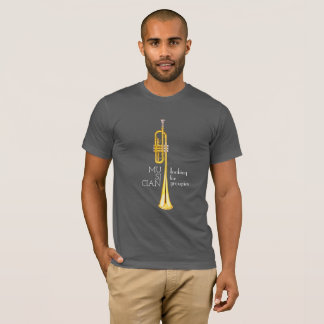 Trumpet, musician looking for groupies shirt