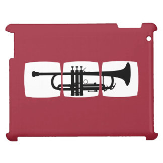 Trumpet Musician T-shirt for trumpeter iPad Cover