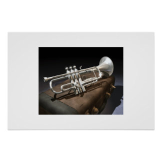 Trumpet on Case Poster