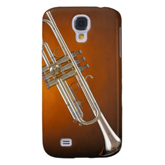Trumpet on Gold Samsung Galaxy S4 Case