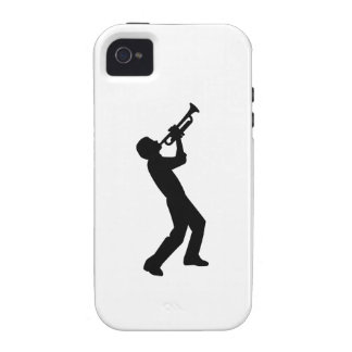 Trumpet player iPhone 4 case