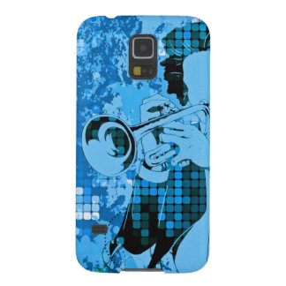 Trumpet Player - Customizable! Galaxy S5 Cases