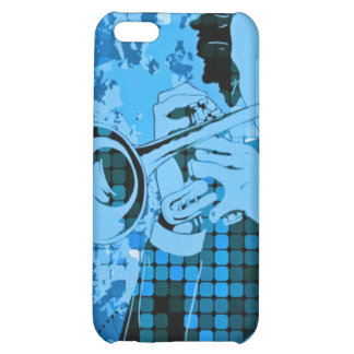 Trumpet Player - Customizable! Cover For iPhone 5C