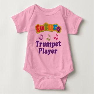 Trumpet Player (Future) Baby Bodysuit