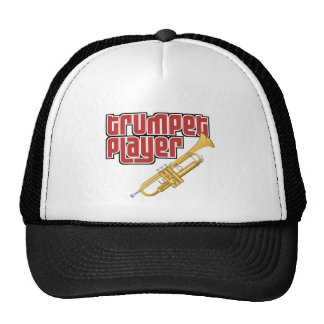 Trumpet Player Trucker Hats