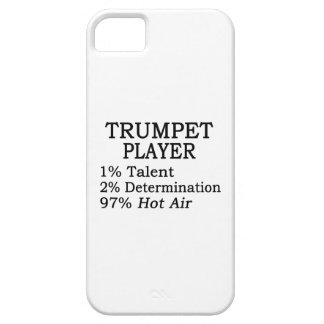 Trumpet Player Hot Air Cover For iPhone 5/5S