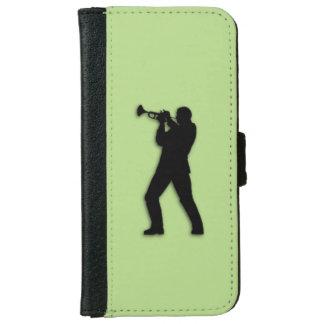 Trumpet Player iPhone 6 Wallet Case