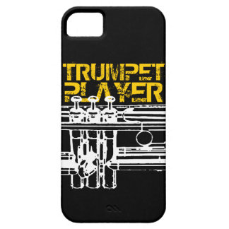 Trumpet Player iPhone Case