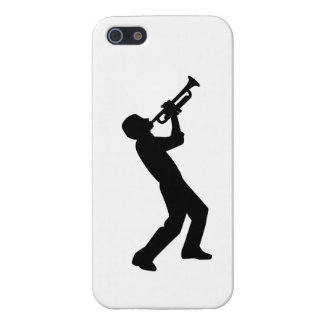 Trumpet player iPhone 5 cases
