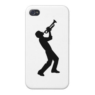 Trumpet player cover for iPhone 4