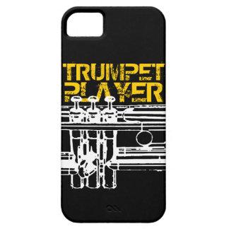 Trumpet Player iPhone Case iPhone 5 Case