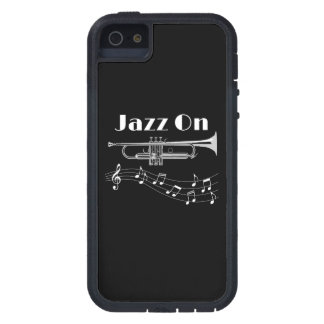 Trumpet Player Jazz On Cover For iPhone 5