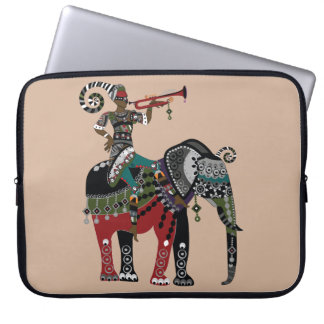 Trumpet Player Laptop Computer Sleeves