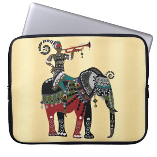 Trumpet Player Laptop Sleeve