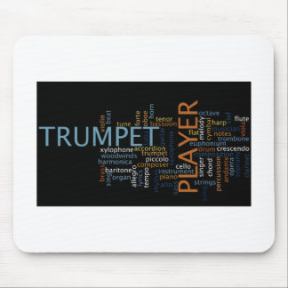 """""""Trumpet Player"""" Mouse Pad"""