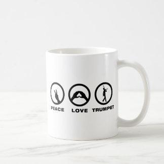 Trumpet Player Coffee Mugs