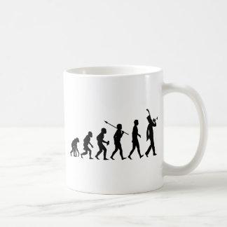 Trumpet Player Classic White Coffee Mug