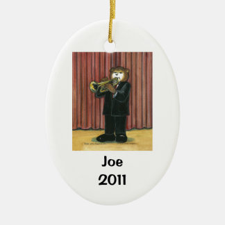 Trumpet Player Personalized Ornament