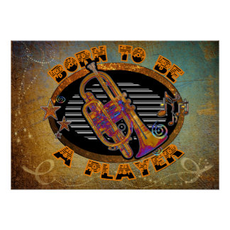 Trumpet Player Posters