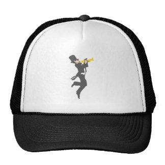 Trumpet player trumpet more player trucker hats