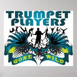 Trumpet Players Gone Wild Print