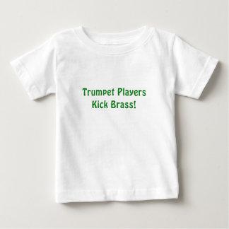 Trumpet Players Kick Brass Baby T-Shirt