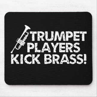 Trumpet Players Kick Brass! Mouse Pads