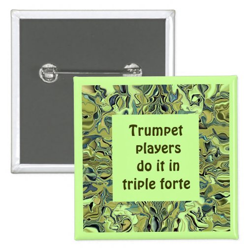 Trumpet players pin
