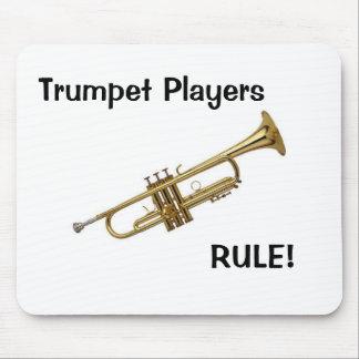 Trumpet Players Rule mousepad