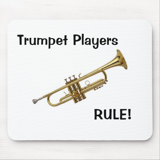 Trumpet Players Rule mousepad