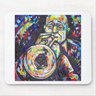 trumpet tune mouse pad