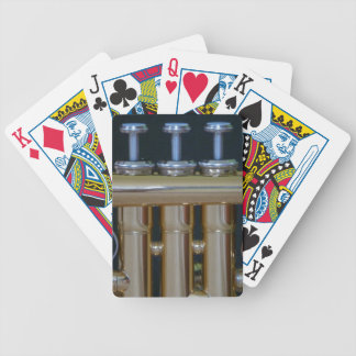 Trumpet Valves Playing Cards