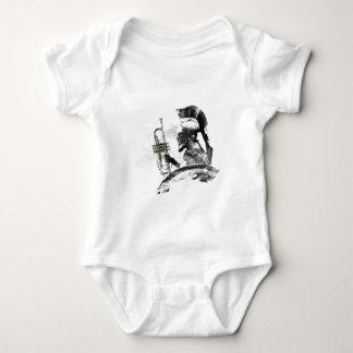 Trumpet Warrior Baby Bodysuit